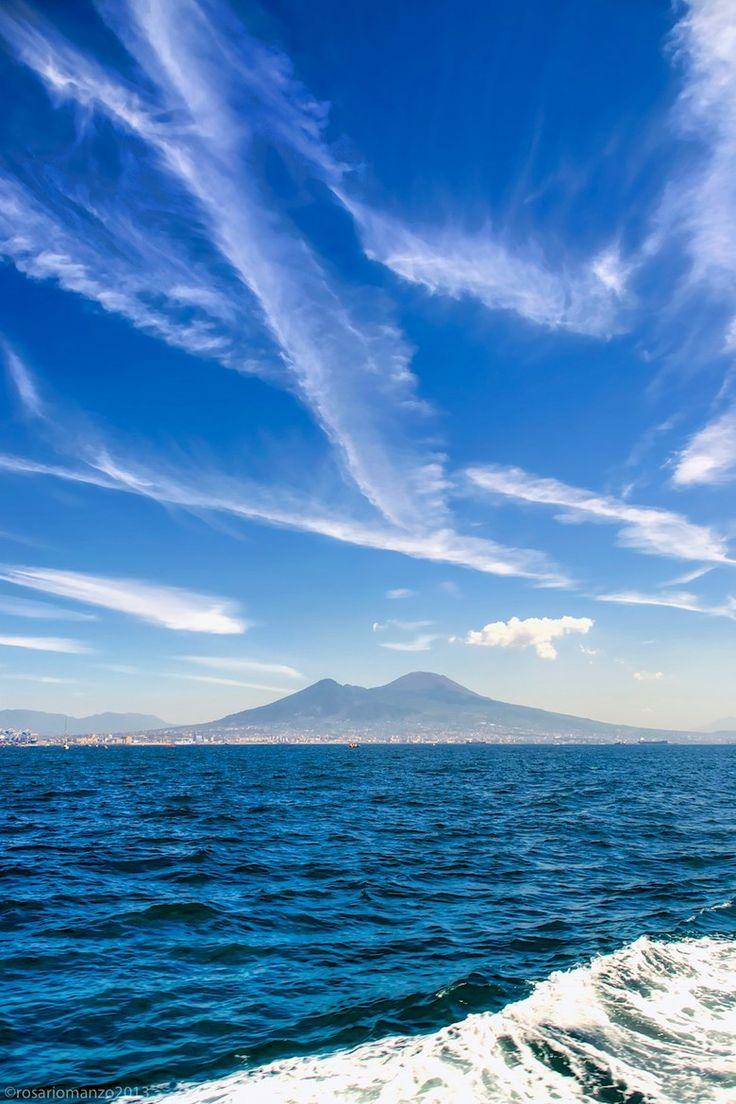 Mt Vesuvius & the Gulf of Naples