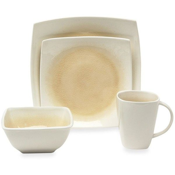 Baum Kashmir 16-Piece Dinnerware Set featuring polyvore home kitchen u0026 dining  sc 1 st  Pinterest & 48 best Dishes images on Pinterest | Dish sets Dishes and ...