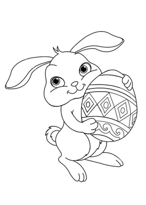 Disegni Conigli Da Colorare.96 Disegni Di Pasqua Da Colorare Disegno Coniglietto Disegno Coniglio Coniglietto Pasquale