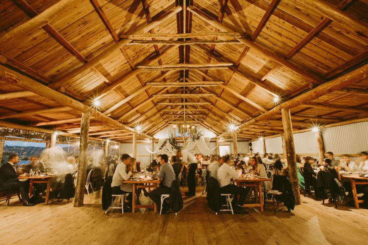 Our Barn is the perfect place for a gorgeous wedding reception.