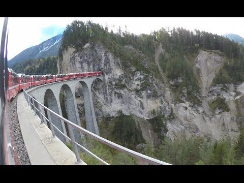 Bernina Express Chur -Tirano - 4K Seitenkameras  - Top-Of.tv - YouTube