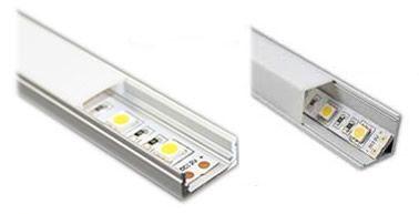 M s de 25 ideas incre bles sobre tiras de led en pinterest - Tipos de perfiles de aluminio ...