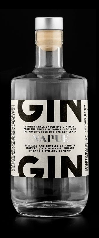 Napue, Gin from Kyrö Distillery Company. PD With this you get the best GT ever...