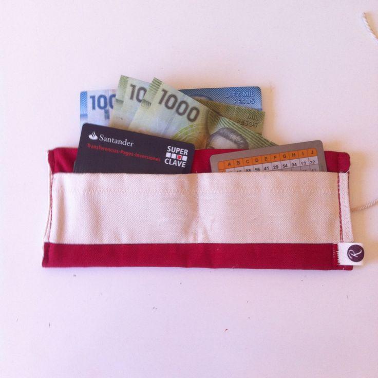 Billetera de lona