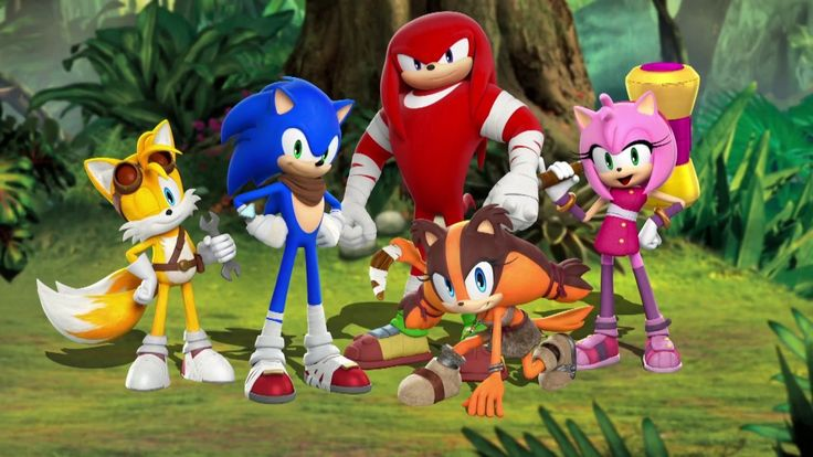 Sonic Boom : L'Ascension de Lyric sur Wii U - jeuxvideo.