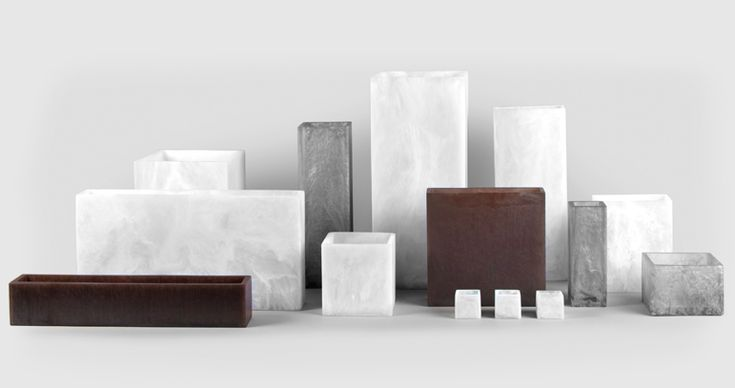 There is perhaps no better showcase for the handmade quality of a STURDY piece than a simple square vase. Each vase is unique and created by hand — and each is a vessel for possibility.  The resin glows, and amplifies all it holds. It's beauty squared.