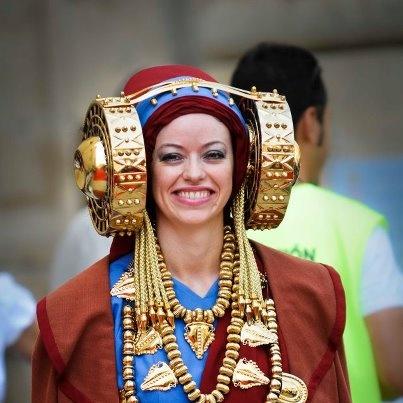 Celebración descubrimiento de la Dama de #Elche el 4 de agosto #visitelche #arte #escultura #tradiciones