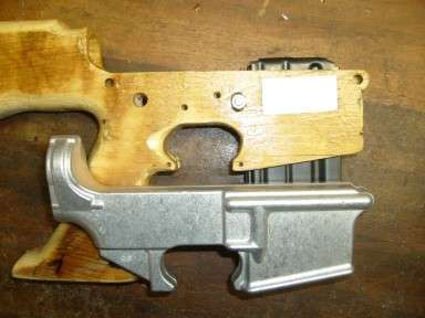Weaponeer Forums: AR Lower--from wood!