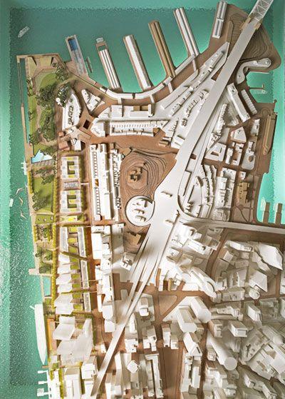 Barangaroo - Hill Thalis - East Darling Harbour Model - Plan view