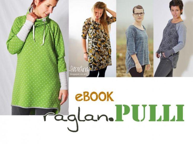 "eBOOK # 70 ""RAGLAN.pulli"" XS-XXXL"