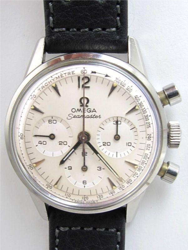 1964 Omega Seamaster Chronograph.  Sweet!  I'll take it, thanks.