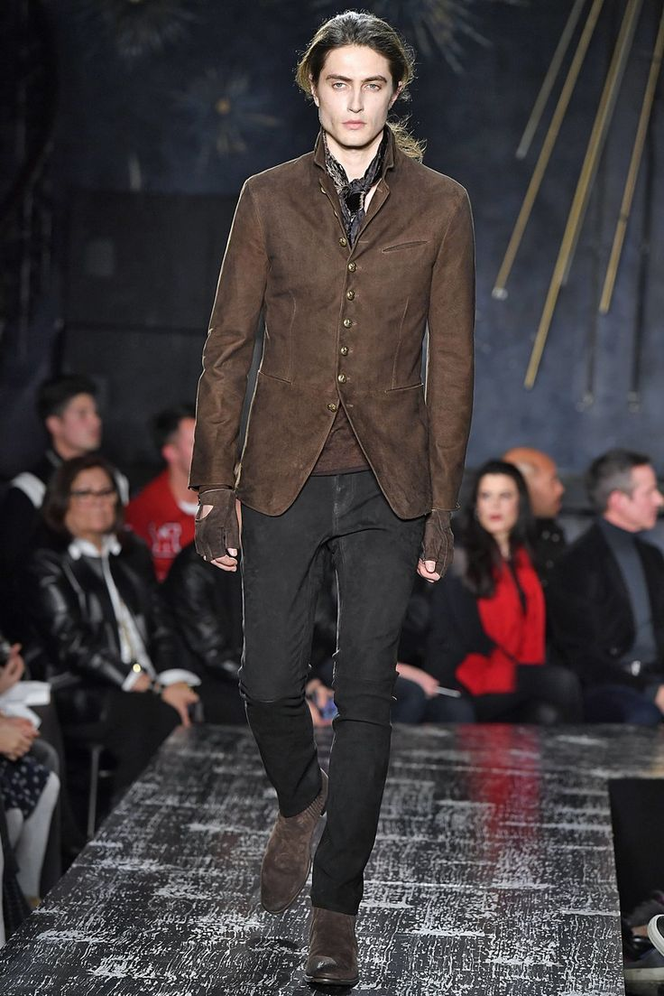 John Varvatos Menswear Collection Fall Winter 2017 New York Fashion Week