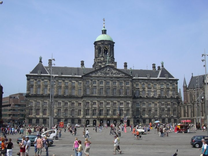 Dam Square, Amsterdam, Netherlands #amsterdam #squares