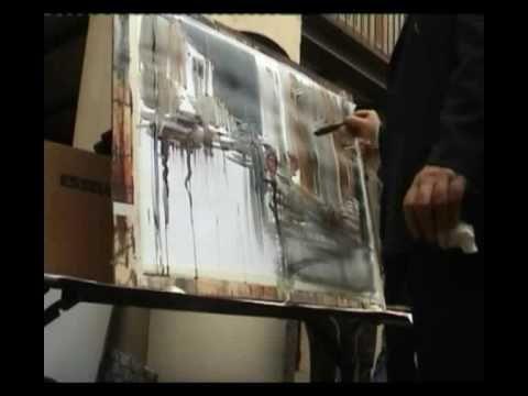 Lezione di acquerello di Angelo Gorlini - Cremona 2008 - YouTube