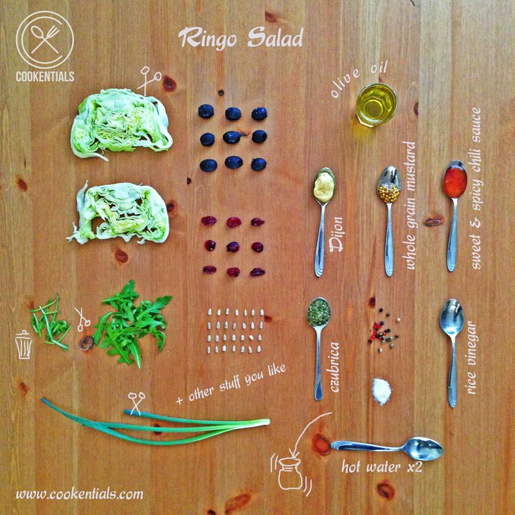 Amazing good and so quick Ringo Salad