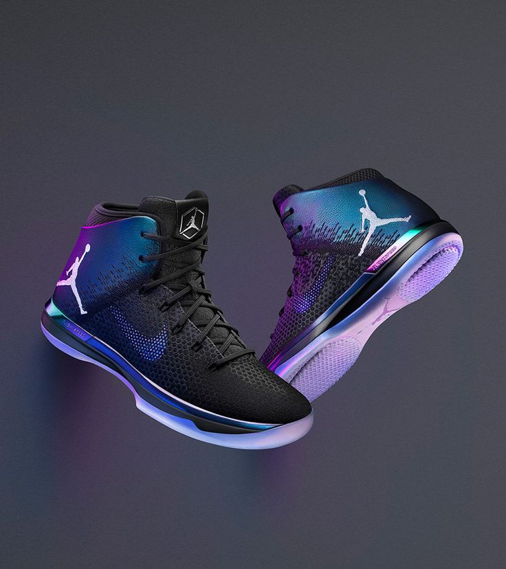 reputable site d0565 4d5ff ... shop three air jordan sneakers go iridescent for nba all star game 2017  eu kicks sneaker