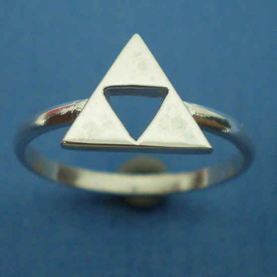 This Legend of Zelda Triforce ring: | 28 Wardrobe Essentials For Female Gamers