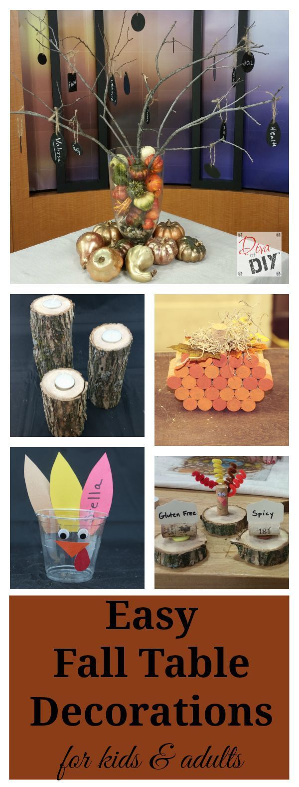 Easy Fall Table Decorations 192 best Diva
