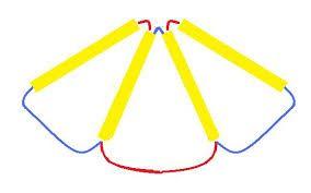 Resultado de imagen para como hacer tipos de collares reciclables