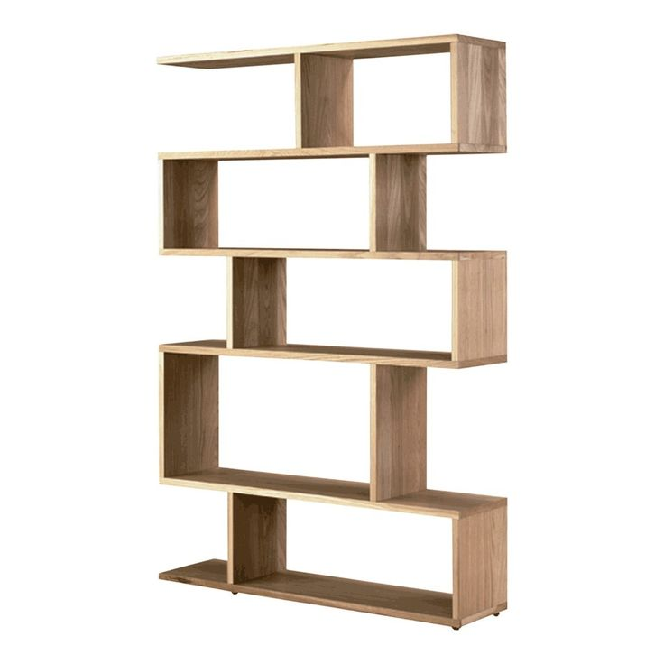 The distinctive Balance shelving unit was designed by Terence Conran for the Content by Conran range. It is available in two widths, in solid and veneered oak or walnut, or with a black stained finish. Matching coffee and side tables and a console are also available.