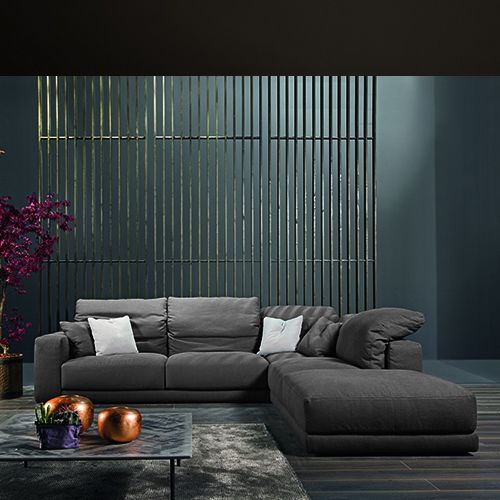 Stylish, Modern And Comfortable Is The New Helmut Sofa With High Adjustable  Back.