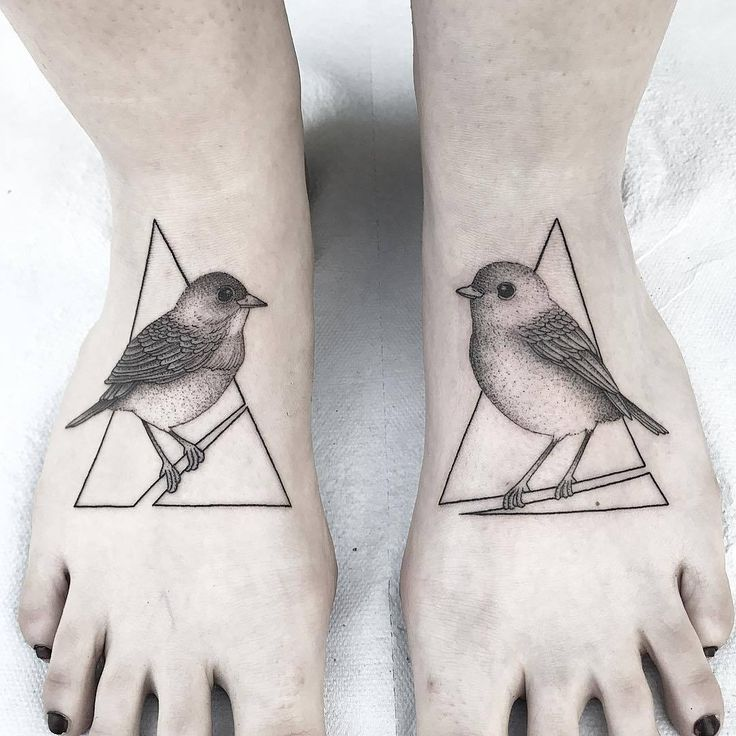 Bird Foot Tattoo Artist: Michele Volpi Italy