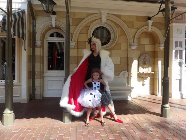 Cruella Deville Costume tutu dress 101 Dalmations