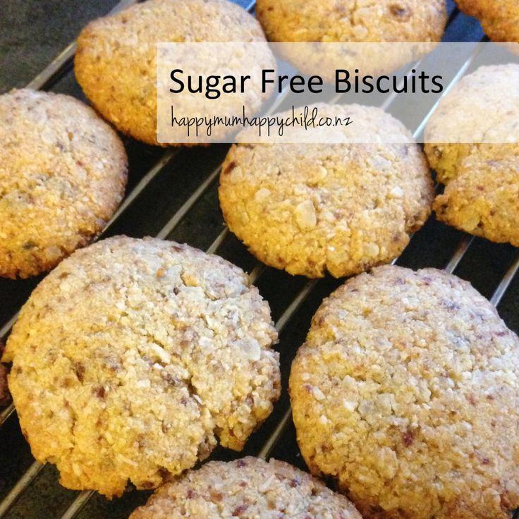 Sugar Free Biscuits by Happy Mum Happy Child