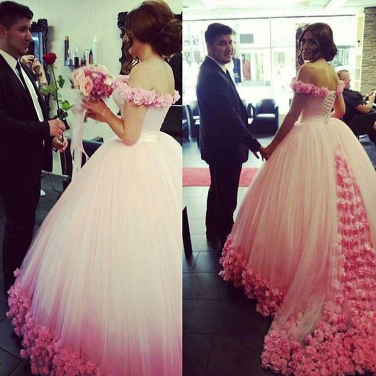 Find More Prom Dresses Information about Custom Make Evening Gowns White Tulle and Pink Flowers Elegant Evening Dresses Hand Made 3D Flower Luxury Prom Dresses,High Quality dress accent,China dress a dress Suppliers, Cheap dress up black dress from Rose's Bridal on Aliexpress.com