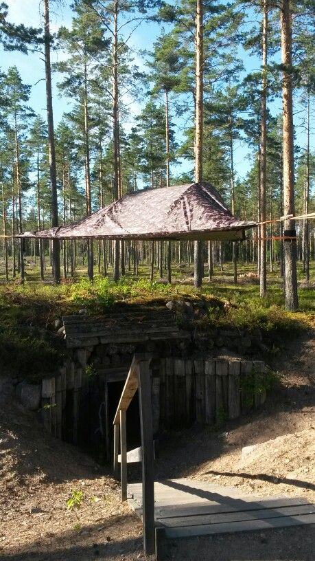 Tentsile goes bunkers @ Virolahti