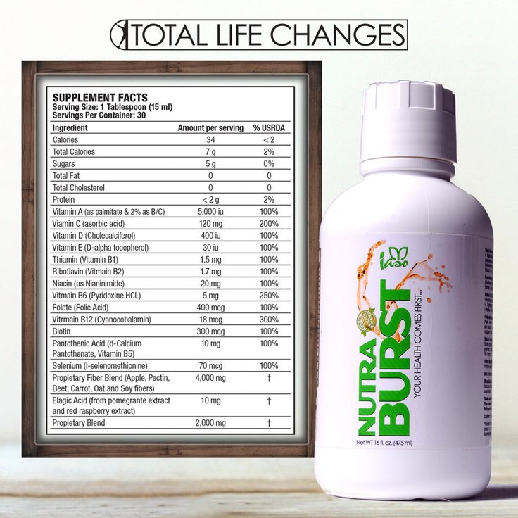 Nutraburst From Total Life Changes A Product That Works