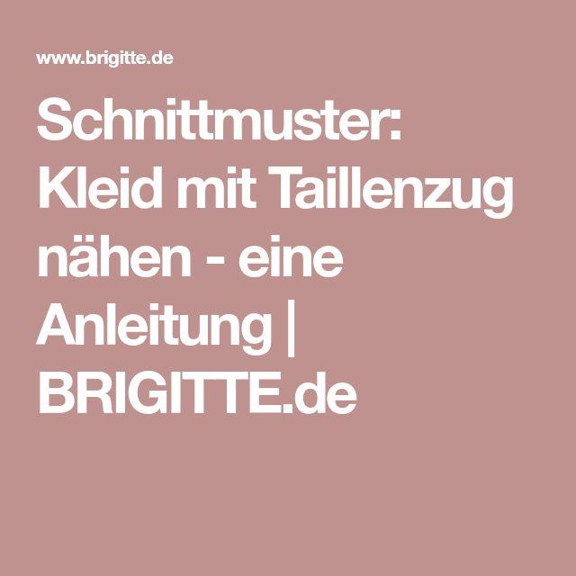 14 besten Nähen Bilder auf Pinterest | Schneiderei, Schnittmuster ...