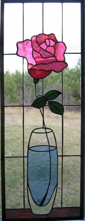 Rose in Vase. Simple and beautiful!