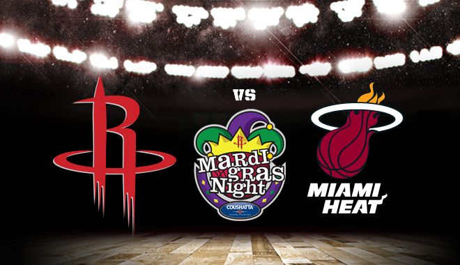 Houston Rockets at Miami Heat Tickets