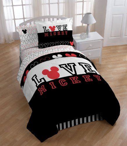 Disney Mickey Love Comforter with Sham Set, Twin Disney http://www.amazon.com/dp/B00839V4SW/ref=cm_sw_r_pi_dp_q4Kbvb0027A0B