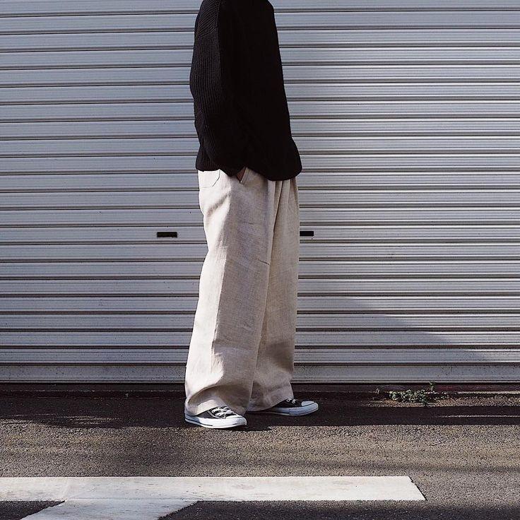 "Reposting @__ta_ka___: ... "" JAN JAN VAN ESSCHEのパンツ早速着ました (めっちゃ気に入ってる。) 試着してそのままきて帰りました"" Menswear mode style fashion outfit ootd clothing streetstyle tenue homme inspiration"