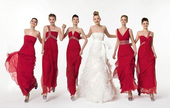 Платье для свадьбы для подружек невесты