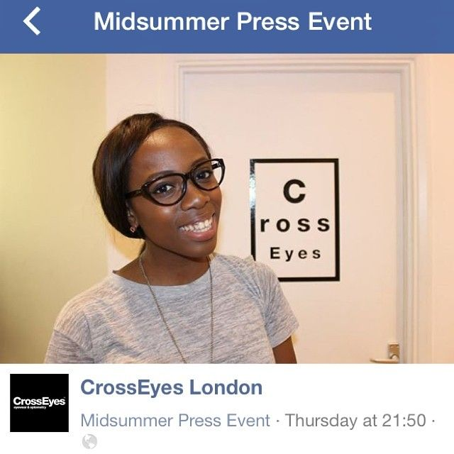 Beautiful Kristabel alias @fashionknitsta trying out our frames at our Midsummer Press Event! Many more photos here: https://www.facebook.com/media/set/?set=a.498913440241482.1073741842.406843856115108&type=1&notif_t=like  #fashionknitsta #kristabelplummer #midsummer #press #event #danish #design #fashion #eyewear #optician #clerkenwell