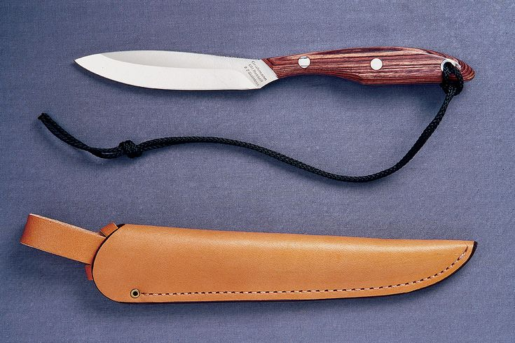 Grohmann 2 Trout And Bird Knife Canadian Made Bushcraft