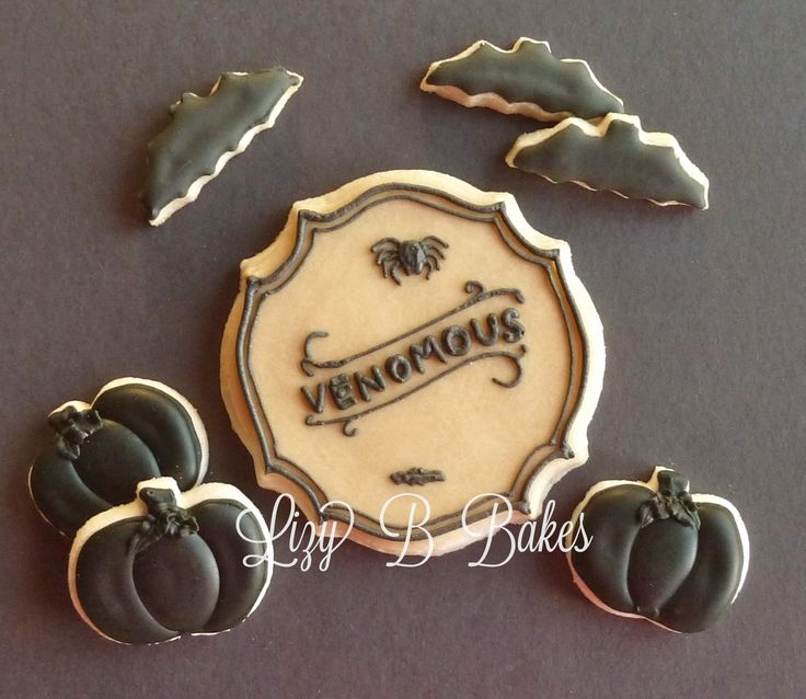 halloween cookie labels - Halloween Cookies Decorating Ideas