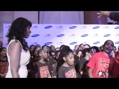 A brief glimpse at how the music industry is inspired by PS22 - serenading Jennifer Hudson - SPOTLIGHT.