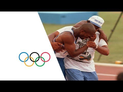 Derek Redmond's Incredible Olympic Story - Injury Mid-Race | Barcelona 1... Inspiring video for Perseverance