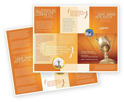 8 best Folletos images on Pinterest Brochures, Brochure template - company brochure templates