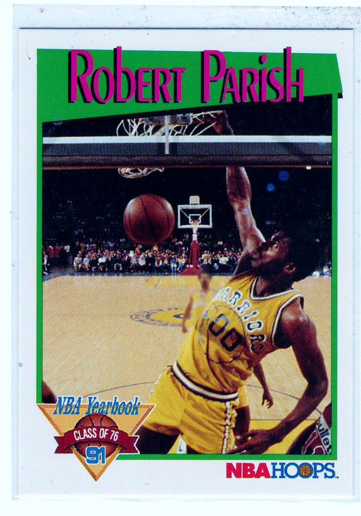 Sports Cards Basketball - 1991 NBA Hoops ( NBA Yearbook Class of 76) Robert Parish