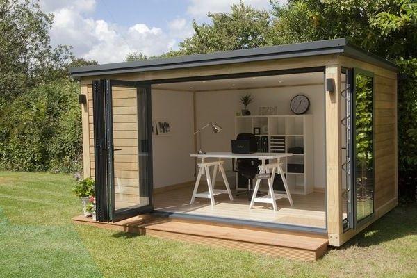 Garden Shed Ideas Modern Garden Office Design Home Office Summer House Design House Design Summer House
