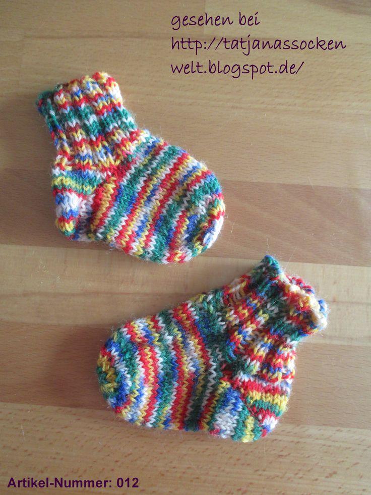 Kleinkinder Socken kunterbunt