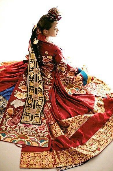 활옷:Hwal-ot, Korea traditional wedding clothes