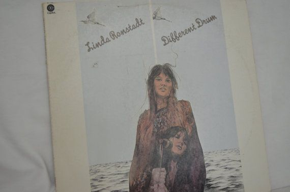 Vintage Record Linda Ronstadt Different Drum by FloridaFinders, $6.00