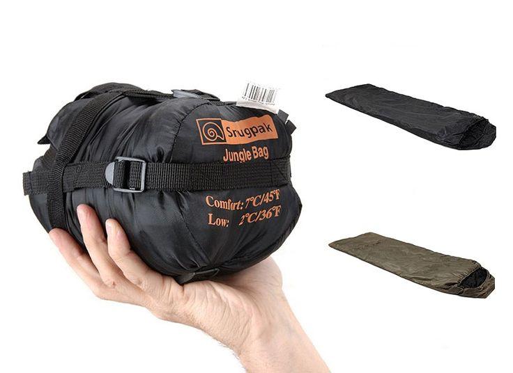 Jungle Bag, the compact sleeping bag designed for the jungle and tropics for $50 via http://vagagear.com/sungpak-jungle-bag/