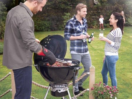 Part of our extensive range, the Weber MasterTouch 57cm Barbecue - Crimson is available for FREE delivery on Garden4Less orders over £25!
